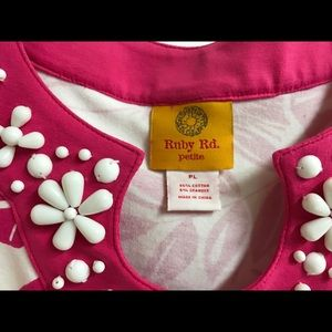 Ruby Rd. Pants - Petite Ruby Rd 2 piece set